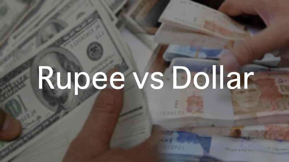 Rupee loses value