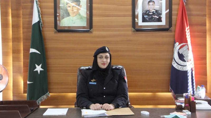 DPO Sonia Shamroz, the first Female Pakistani Police Officer in KPK.