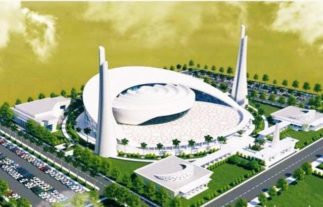 King Salman mosque at International Islamic University- Islamabad